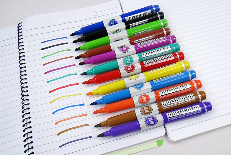 8pc Office Erase Easily Environmental Protection Multicolor Whiteboard Marker Pen