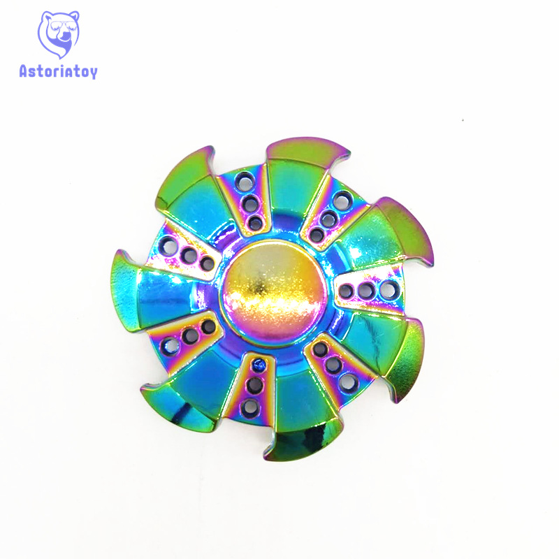 New Styles Fidget Spinner High Quality EDC Hand Spinner For Autism and ADHD Rotation Time Long Anti Stress Toys Kid Gift