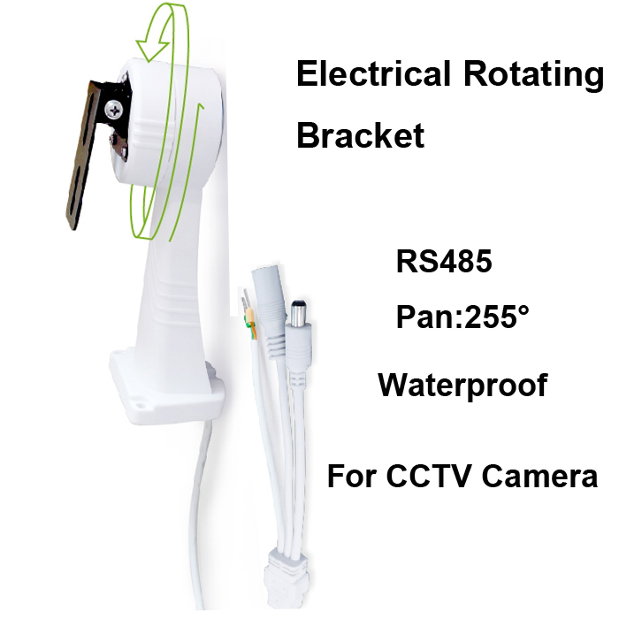 New Electric CCTV Cameras Accessories Rotating Bracket Installation Stand Holder for CCTV Security IP Camera 225 Degree RS485|rs485 ttl|rs485 switch|holder - title=