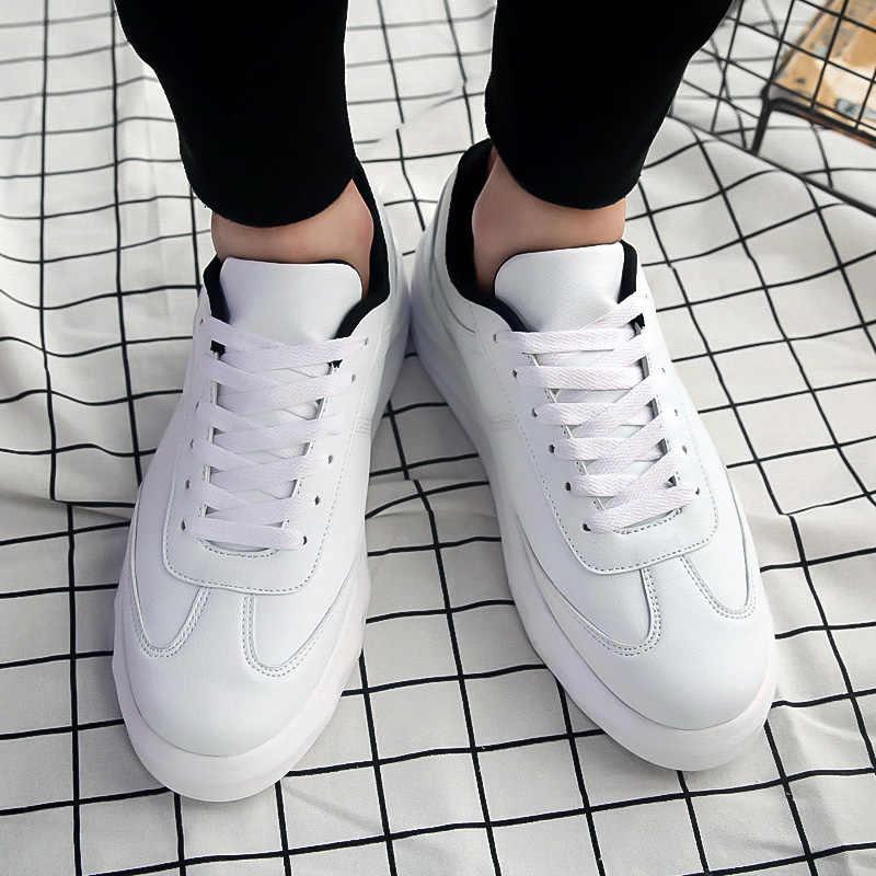 2018 Nieuwe Klassiekers Stijl Mannen Casual Schoenen Lace Up Mannen Loafers Split Lederen Mannen Flats Outdoor Fashion Casual Schoenen 5