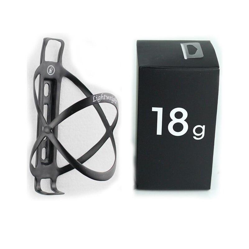 Lightweight Edelhelfer Bicycle Bike Cycling Carbon Bottle Cage 18g Mtb Carbon Bottle Holder LW Carbon Fiber Bottle Cage