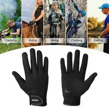 Профессиональные перчатки для верховой езды для мужчин и женщин, перчатки для верховой езды, спортивные перчатки унисекс для бейсбола и софтбола