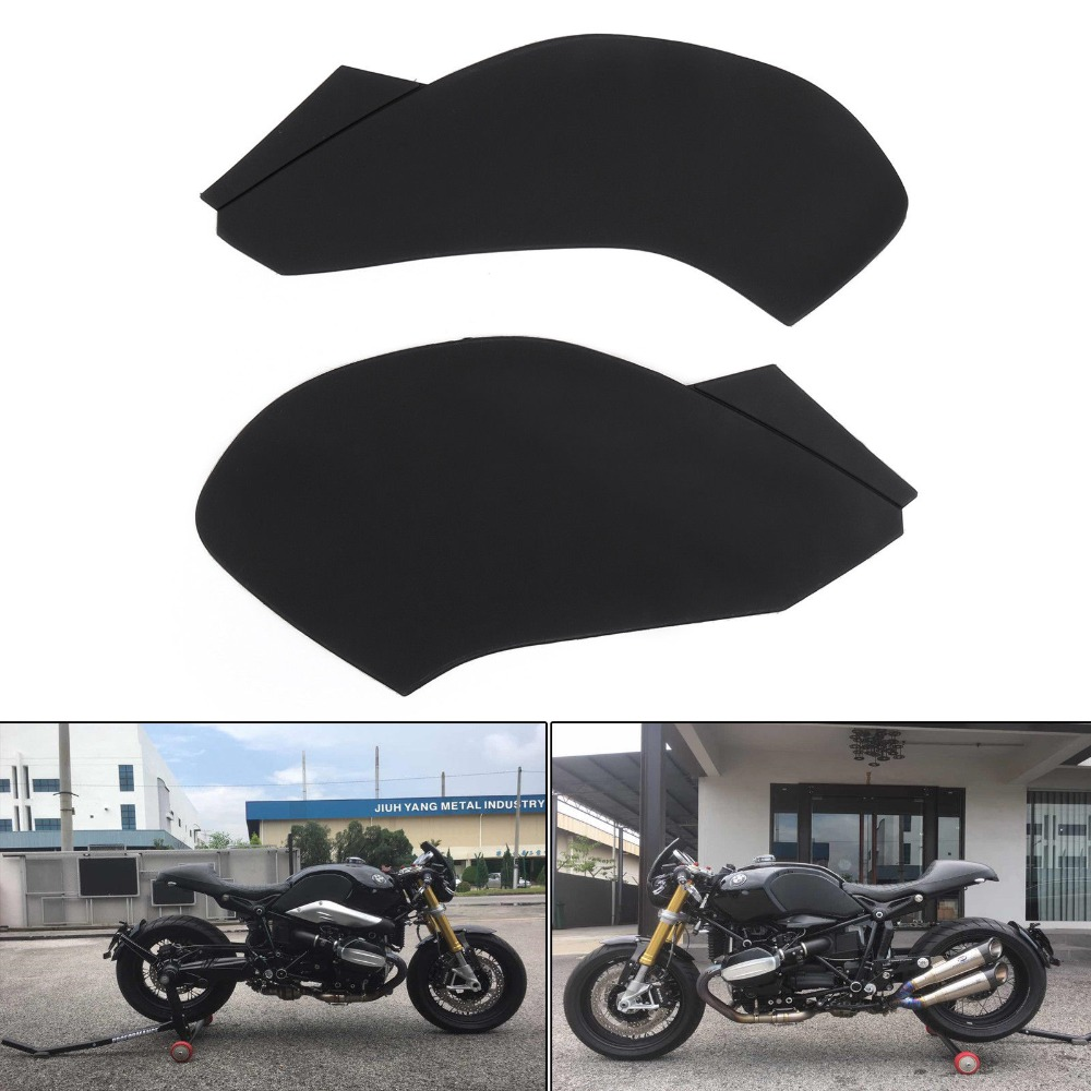 For R NINE T Gas Tank Pad Traction Side Fuel Grip Decals Protector