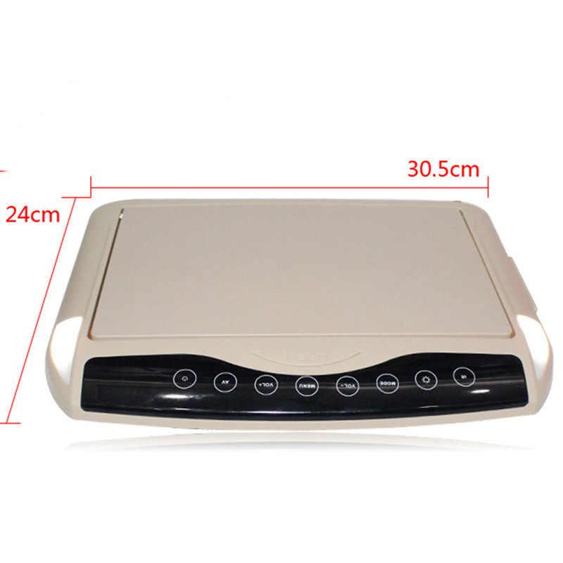 10.1 インチ車のモニター超薄型天井ルーフマウント液晶 TFT フリップダウン MP5 プレーヤー HD 1080P ビデオ/ USB/SD/FM トランスミッタ/スピーカー