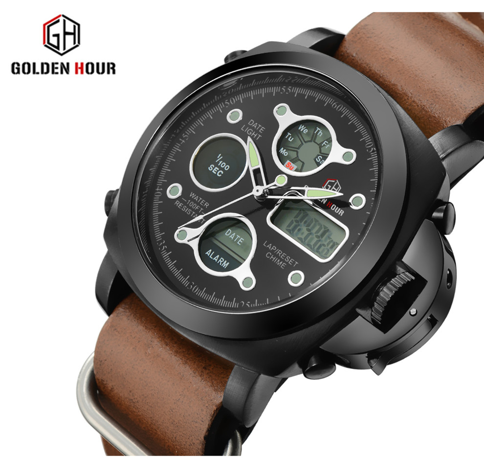 2017Watches Men Luxury Brand Military Sport Watches Casual Waterproof Digital LED Watch for Quartz Watch Watch