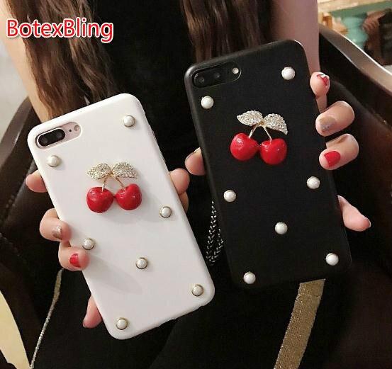 BotexBling DIY 3D luxury diamond case for iphone X 7 case 7plus 6 6s plus 6plus note8 hard cover s8 s8plus s7edge s6 edge 8plus