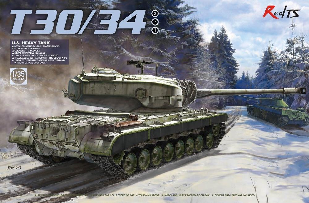 RealTS Takom 1/35 2065 US Heavy Tank T-30/34