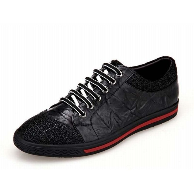 High Quality Fashion Genuine Leather Formal Brand Man Casual Shoes Luxury Men Dress Vintage Rubber Shoes Comfortable Drive Shoes