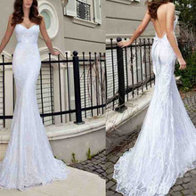 New 2016 V-Neck Sash Sexy Appliques Backless Lace Mermaid Wedding Dresses Bridal Gowns Bead Spaghetti Strap 2014