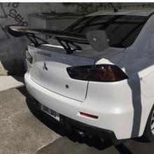 For BMW Benz Corolla Lexus Infiniti Lancer EX Civic 4 Door Sedan GTS Style 100% Carbon Fiber Universal Rear Wing Spoiler
