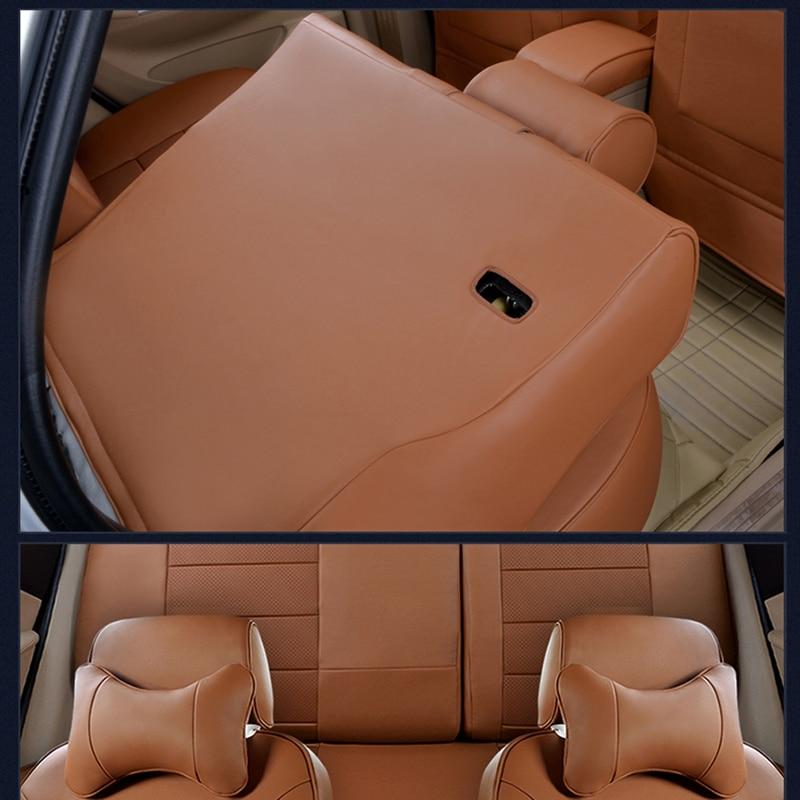 AutoDecorun Custom Fit asiento de la cubierta para Ford Explorer 2016 - Accesorios de interior de coche - foto 3