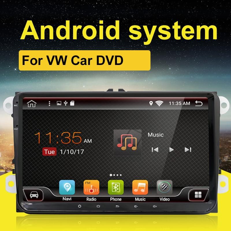 2 DIN Android 7.1 9 pouces voiture GPS Navigation sans DVD pour Volkswagen Golf B6 B5 B7 Passat Polo autoradio stéréo GPS multimédia