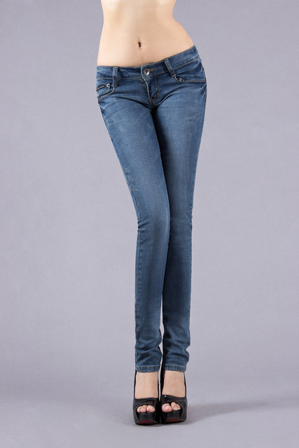86a1eec5f New year 2015 low waist jeans women's stretch jeans woman denim trousers |  size 25-33 Fashion famous brand jeans women