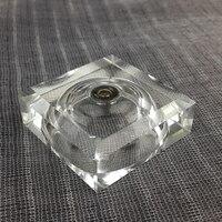 Multicolor LEVOU Pedestal Suporte para Display De Cristal Decoração de Cristal