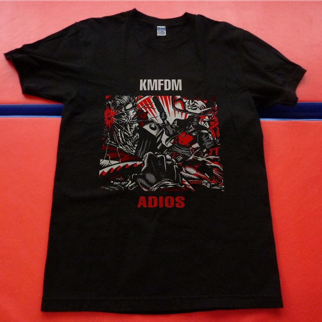 Gildan T Shirt Kmfdm Adios Size S 4xl Women Tshirt In T Shirts From