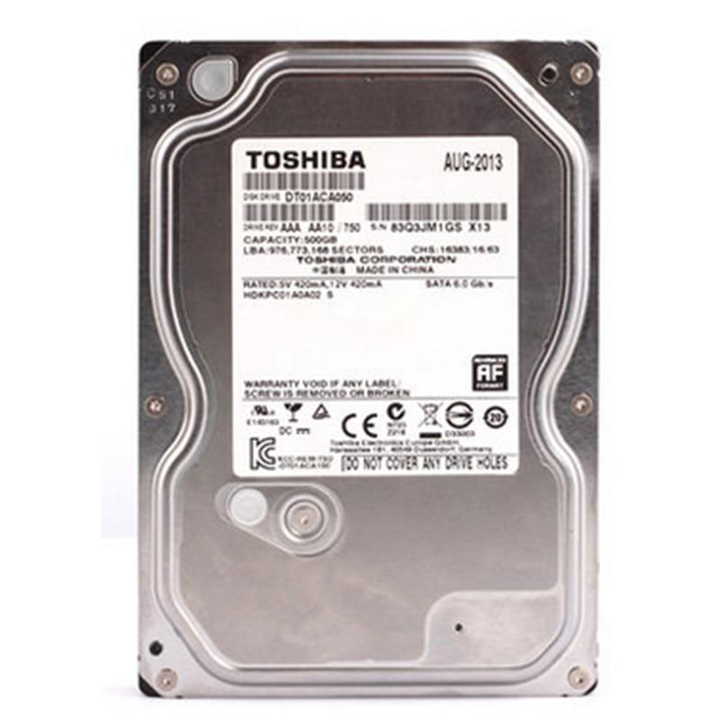 Toshiba 500G HDD HD Hard Drive 3 5 Internal Hard Drive DT01ACA050 SATA 3 0 7200RPM