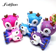 Fulljion Antistress Squishy Squishe Stress Relief Toys Slow Rising Gadget Soft practical jokes Popular Novelty & Gag Toys Gifts