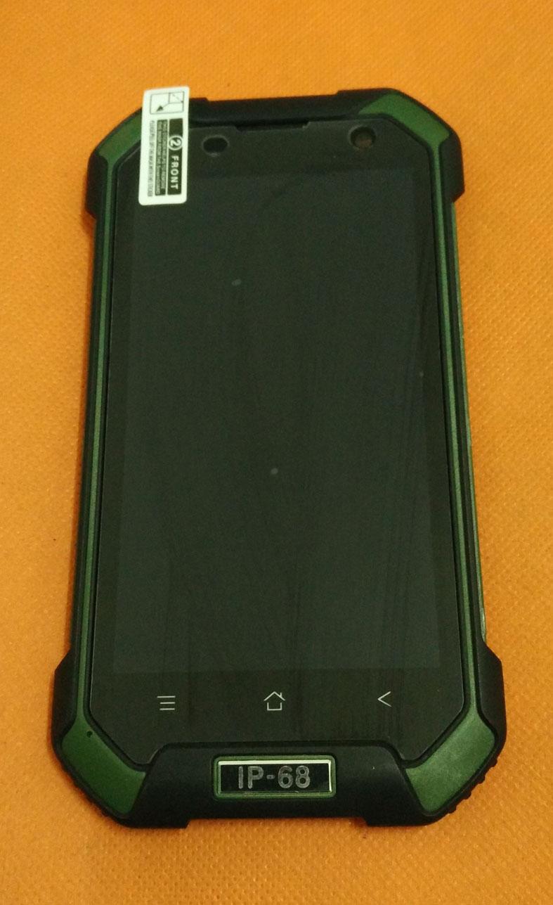 """Prix pour Utilisé Original écran Tactile + LCD display + Cadre pour Blackview BV6000 MT6755 Octa Core 4.7 """"HD Livraison gratuite"""