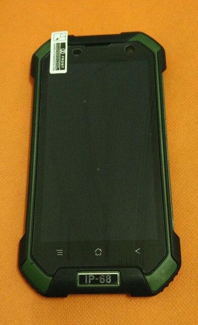 """تستخدم الأصلي لمس الشاشة + شاشة lcd + الإطار ل blackview BV6000 MT6755 الثماني النواة 4.7 """"hd شحن مجاني"""