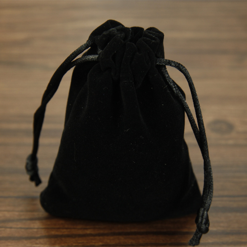 10pcs/lot Wholesale 8x10cm Drawstring Velvet Bags Pouches Jewelry Bags Christmas Valentines Gifts Bags Black/Blue/Red/Purple