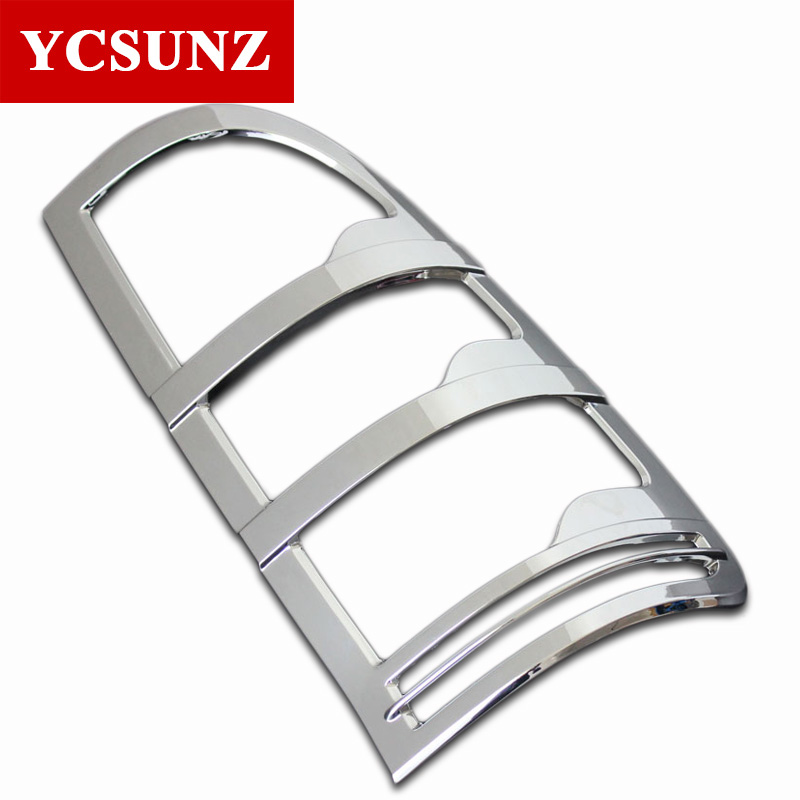 ABS Chrome Tail Lights Cover Strips Trim For Toyota Hilux Vigo 2005 - Auto Replacement Parts - Photo 3