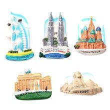 Креативный 3D магнит мировой Туризм Туристические аттракционы сувениры магнит на холодильник магнитные наклейки домашний Декор подарок