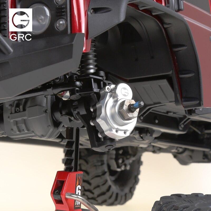 Pièces de levage de poids de contrepoids de cuivre de CNC pour 1/10 TRAXXAS Trx-4 TRX4 pièces de mise à niveau de voiture de Rc de chenille