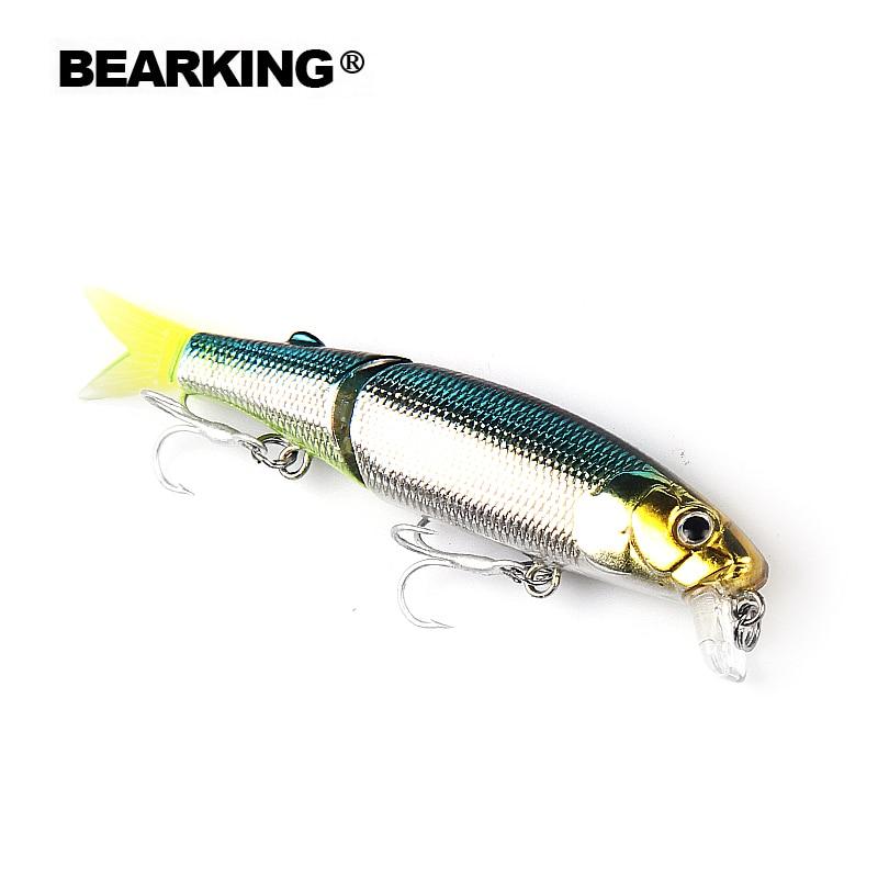 Bearking marka 5 ADET Minnow Balıkçılık Cazibesi Lazer Sert Yapay Yem 3D Gözler 8.8 cm 7.2g Balıkçılık Wobblers Crankbait Minnows