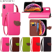 Luxury flip leather case for iPhone 7 5S SE 6 6S Plus wallet card slot cover for iPhone X for iPhone X XS Max XR 8 Plus цена и фото