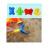 Colorido Niños Playa de Arena Playa de Agua Juego Juguetes Set 13 unids cubo Pala Rastrillo Kit de Construcción Sea Horse Divertidas Herramientas Moldes juguete