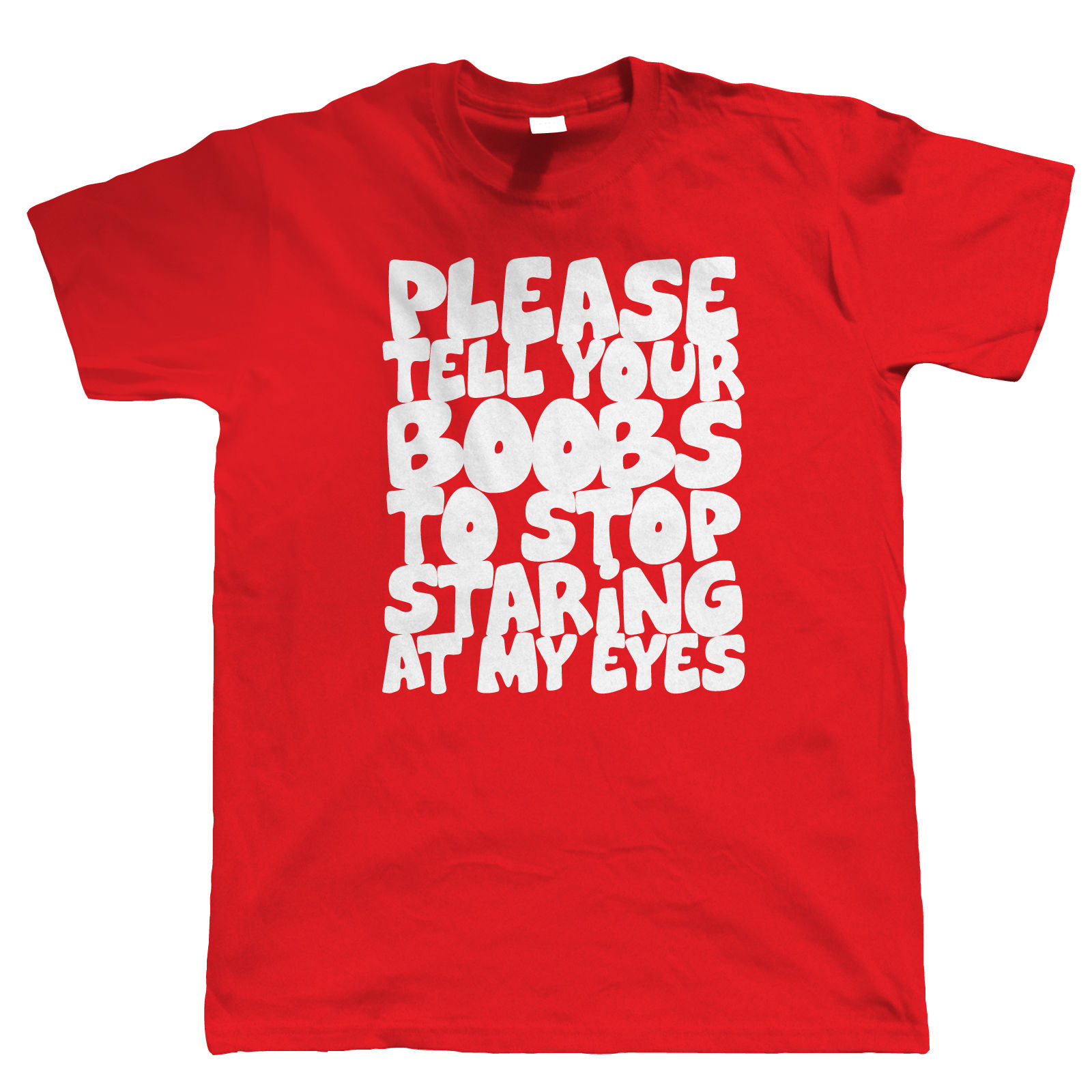 Please Tell Your Boobs Mens Funny T Shirt Gift for Dad Him Funny Tops Tee New Unisex Funny High Quality Casual Printing in T Shirts from Men 39 s Clothing