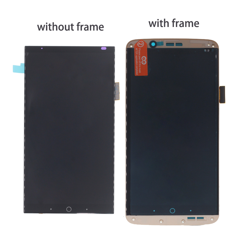 Image 2 - Original AMOLED For ZTE Axon 7 LCD with frame display Touch Screen Digitizer Assembly For ZTE A2017 A2017U A2017G Axon7 LCD-in Mobile Phone LCD Screens from Cellphones & Telecommunications