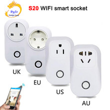 S20 WiFi Good Socket EU/US/UK/CN Plug Wi-fi Distant Management Good House Automation help iPhone Android Smartphone