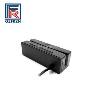 Image 3 - Lecteur à bandes magnétiques 2 en 1 + lecteur de carte à puce IC Contact avec écriture