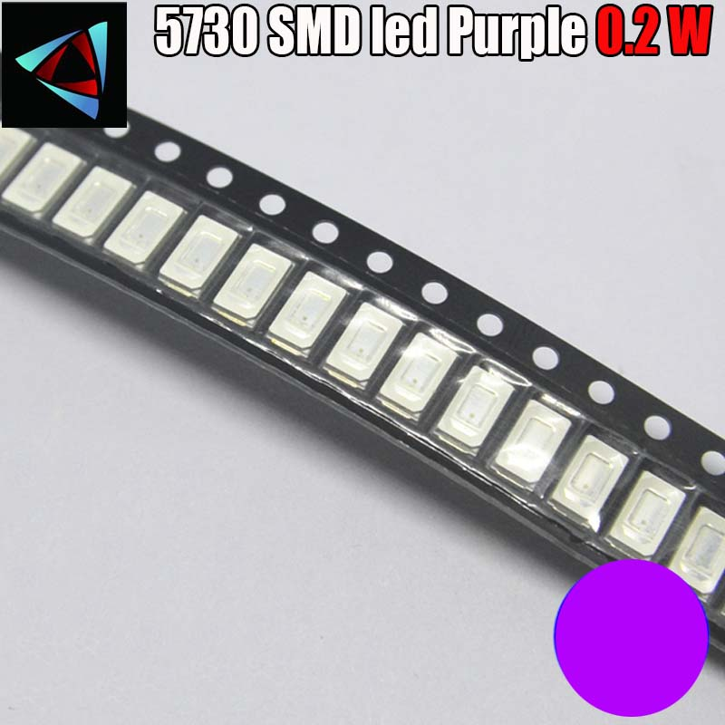 400nm Led Ultra Violet Light Emitting Diode Lamp Moderate Price Active Components Electronic Components & Supplies 100pcs Uv Led Smd 5050 Chip Purple Surface Mount Bead 60ma Ultraviolet 395nm