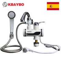 3000W Temperature Display Instant Hot Water Tap Tankless Electric Faucet Kitchen Instant Hot Faucet Water Heater