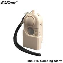 Alarm bezpieczeństwa podróży Camping podczerwieni czujnik ruchu czujnik przenośny Mini ochrony hotelu przed kradzieżą okna zapobiec przedostawaniu