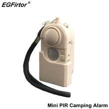 Sicherheit Alarm Camping Reise Infrarot Motion Sensor Detektor Tragbare Mini Schutz Hotel Anti diebstahl Fenster Das Eindringen