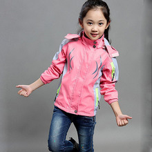 Waterproof Outdoor Jacket for Girls