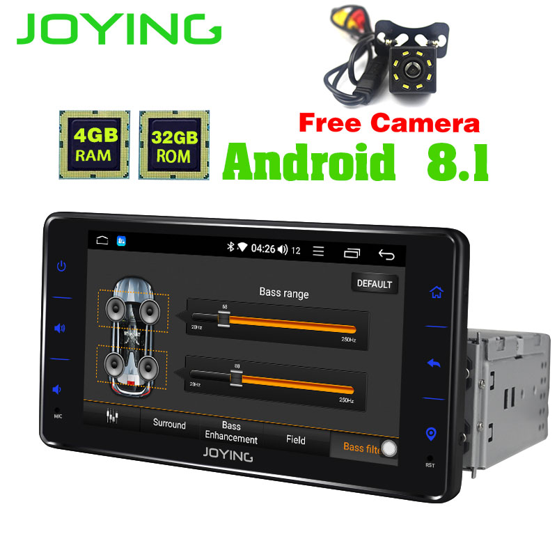 JOYING Officiell GPS Android 8.0 Bilradio 2 GB Bluetooth Octa Core 1 - Bilelektronik