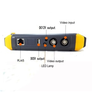 Image 4 - Upgraded 4 IN 1 5MP AHD TVI 4MP CVI Analog Security Camera Tester IV8W 5 Inch CCTV Tester Monitor VGA HDMI Input UTP Cable Test