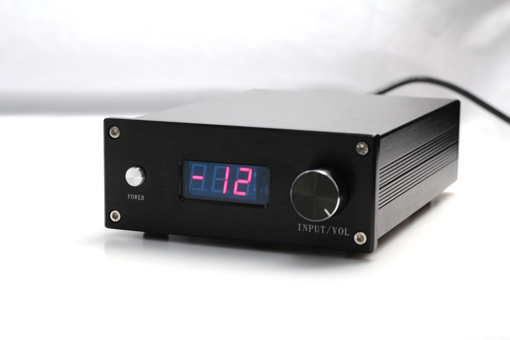 DIYERZONE HIFI PGA2311 Remote Volume Control Preamplifier Stereo Preamp With 4 Way Inputs Home AmplifiersDIYERZONE HIFI PGA2311 Remote Volume Control Preamplifier Stereo Preamp With 4 Way Inputs Home Amplifiers