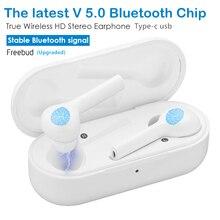 Freebud 5.0 casque sans fil 3D stéréo sans fil Bluetooth écouteurs basse profonde sport jeu casque pour iPhone xiaomi huawei