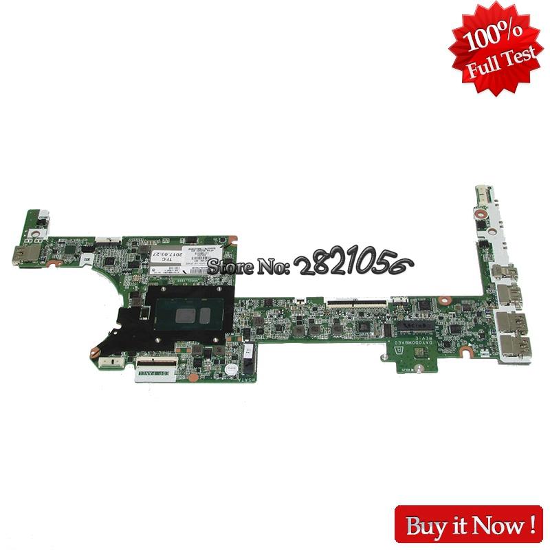 Nokotion Mainboard DAY0DDMBAE0 847450-601 847450-001 852049-601 for HP Spectre x360 SR2F1 i7-6600U 8G Tested