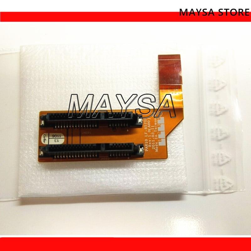09JP9M PER DELL Alienware M18x R1 HDD SATA Hard Drive Cavo Adattatore Del Connettore LF-6571P 9JP9M testare bene il trasporto libero09JP9M PER DELL Alienware M18x R1 HDD SATA Hard Drive Cavo Adattatore Del Connettore LF-6571P 9JP9M testare bene il trasporto libero