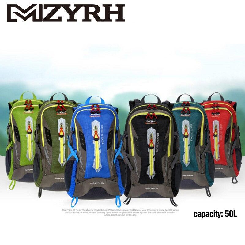 MZYRH Велоспорт Горный велосипед рюкзак 50L открытый бутылка для воды сумка для мужчин женщин Кемпинг пеший Туризм Путешествия