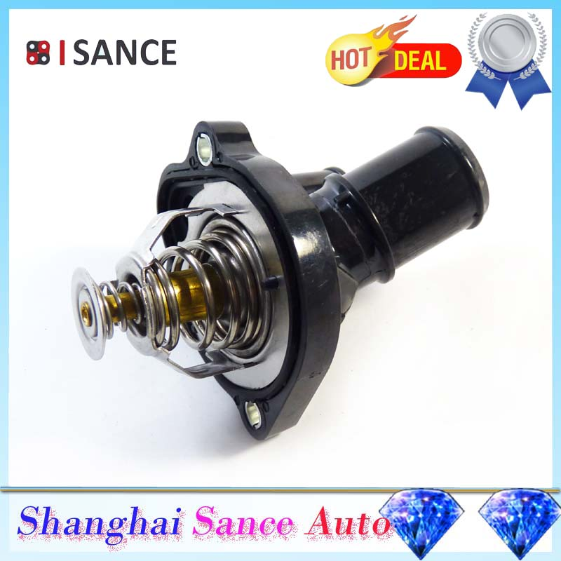 Isance Engine Coolant Thermostat Outlet M Z B M Z B For Ford Escape Focus Fusion Ranger Lincoln on Ford Ranger 3 0 Thermostat
