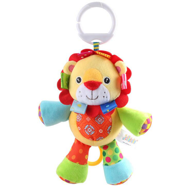 Lion Activity Baby Bed Pram Hanging Musical Toys Baby Stroller Toy