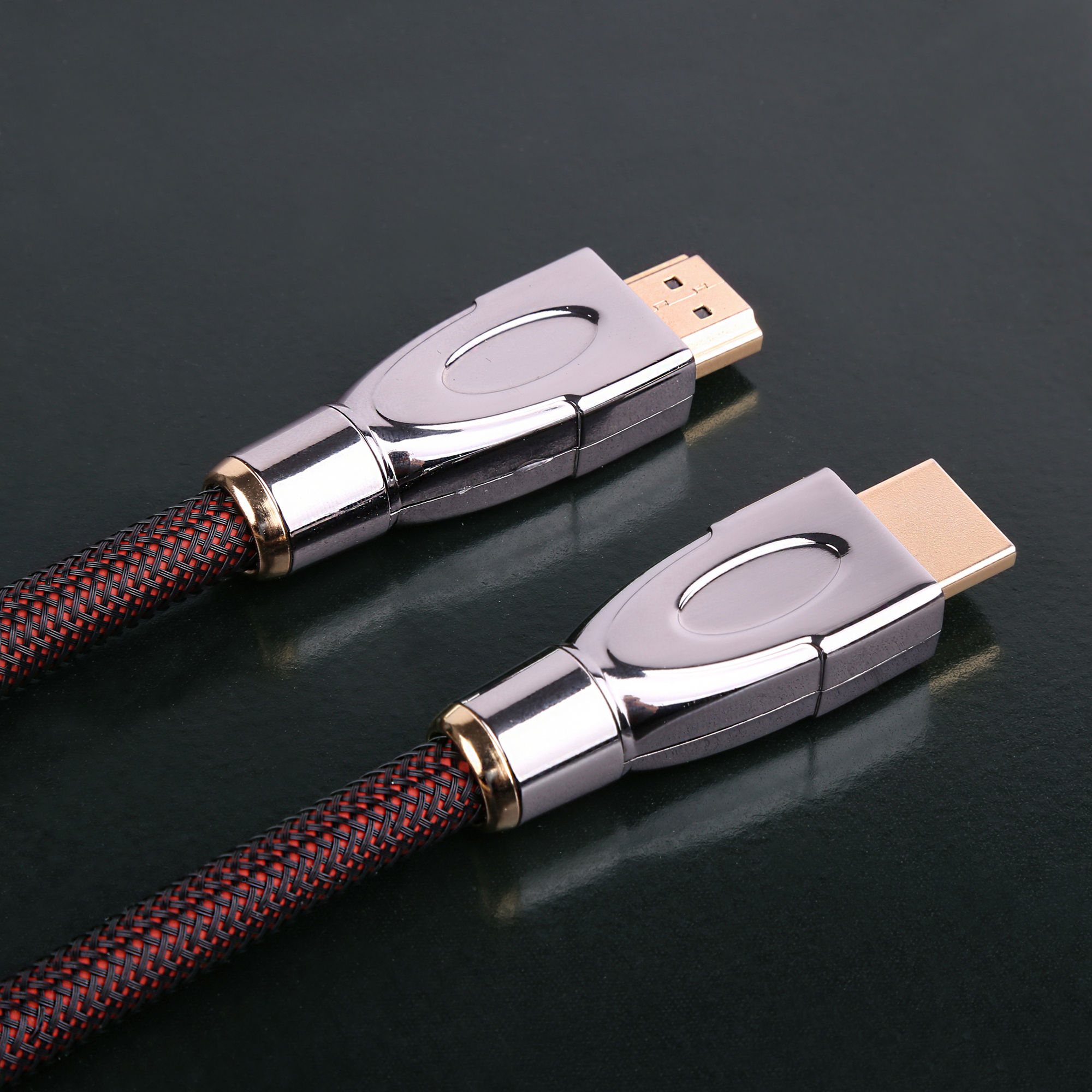 HD-300 Pure Silver HDMI I2S IIS Cable HIFI HI-END Audiophile Audio Cable Wire Soundaware RED CORE Player LKS HOLO MATRIX GUSTARD(China)