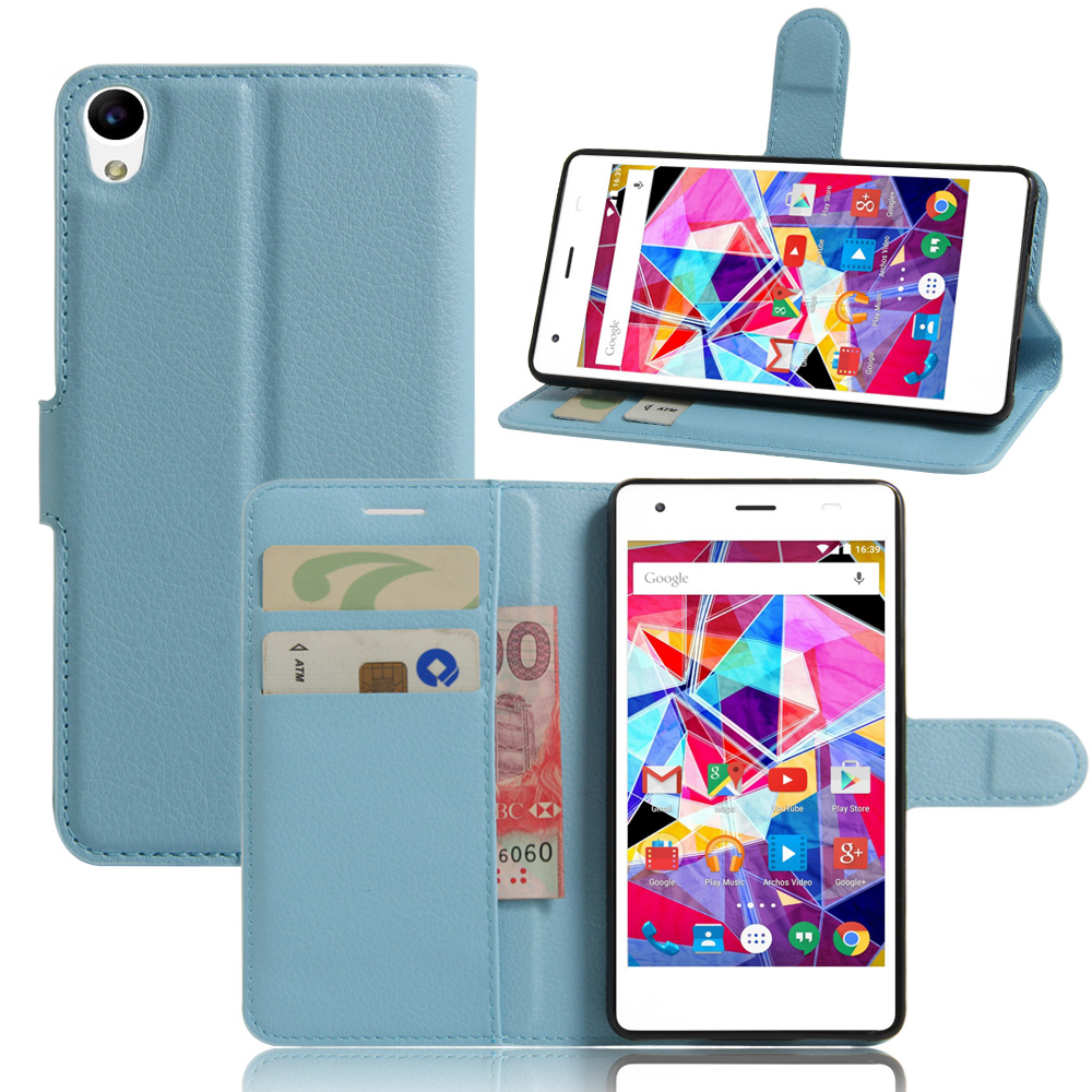YINGHUI For Archos Diamond S 5.0 Case Wallet Style PU Leather Mobile Protective Back Cover For Phone Bag Cases